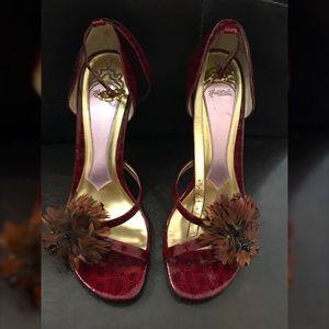 """Wine Red 3"""" Heels"""